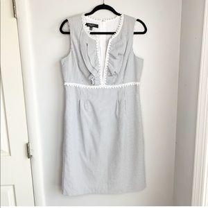 Nine West Seersucker Dress Size 12